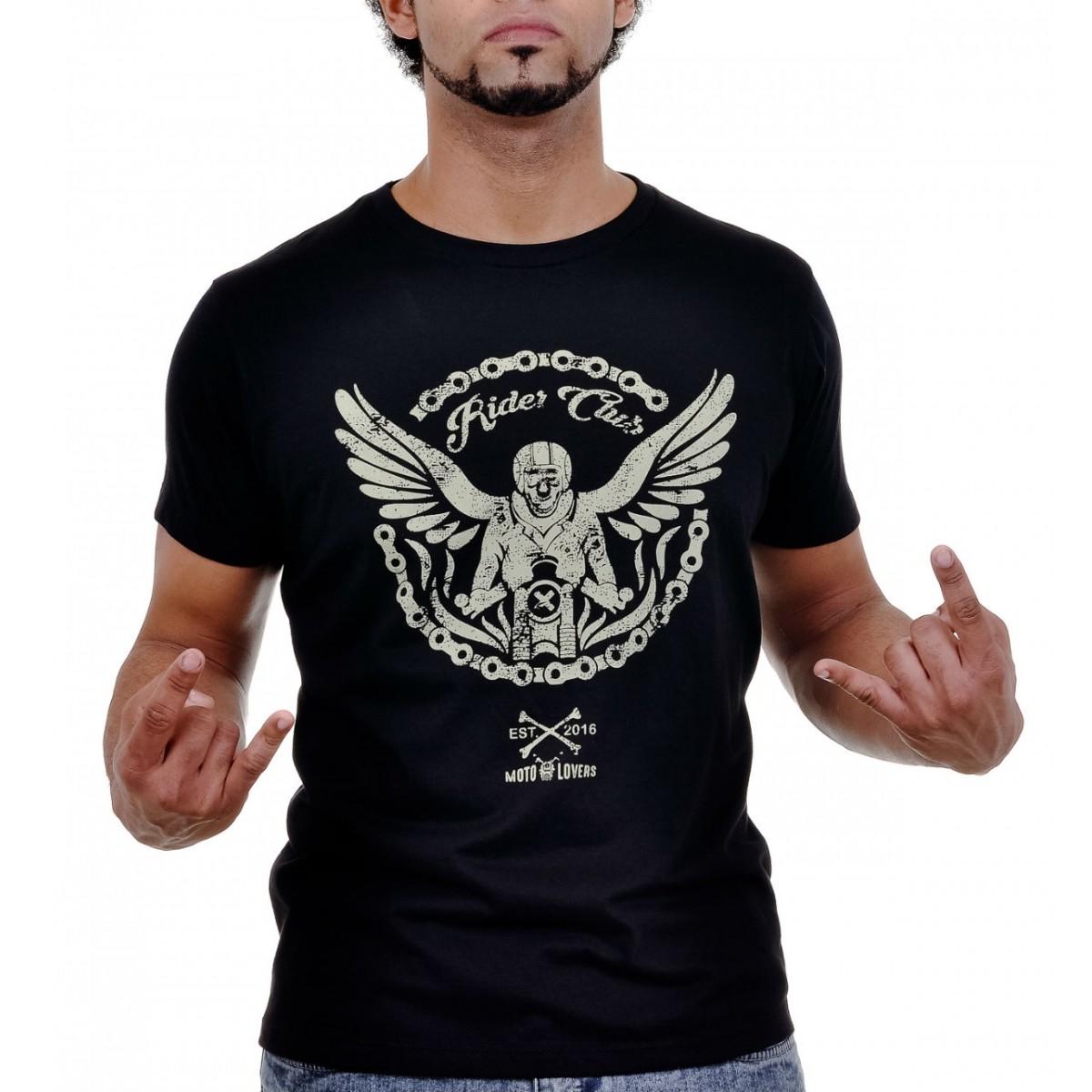 Camiseta Caveira - Correntes que Libertam