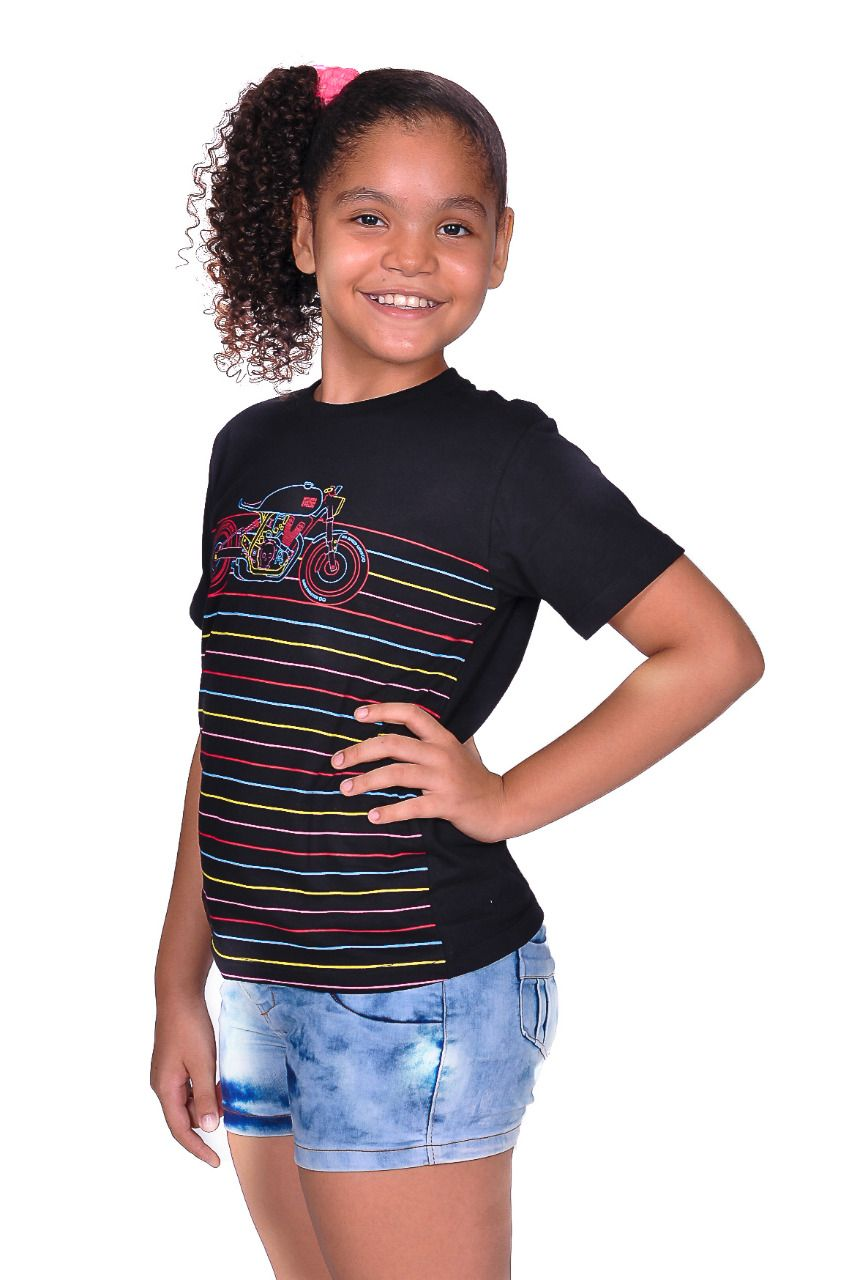 Camiseta Infantil Moto Lovers - Motos