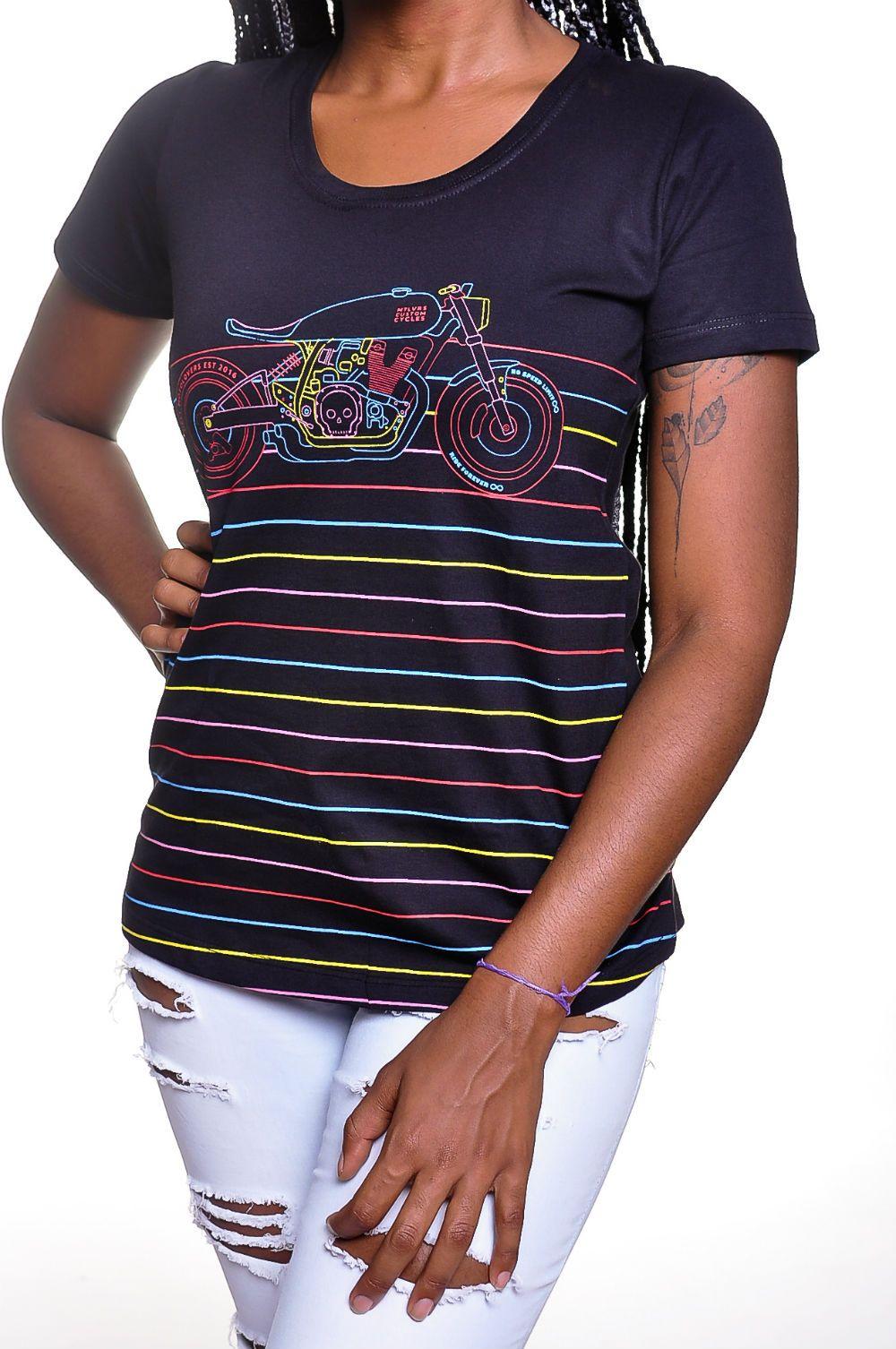 Camiseta Moto Lovers - Moto Color