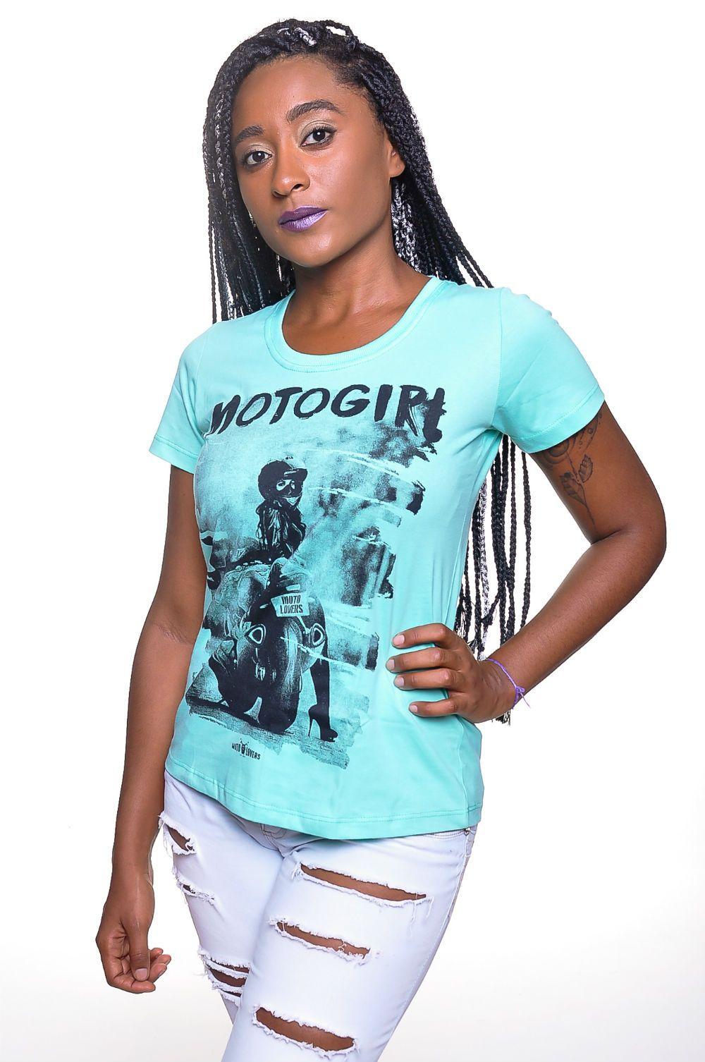 Camiseta Moto Lovers - Moto Girl