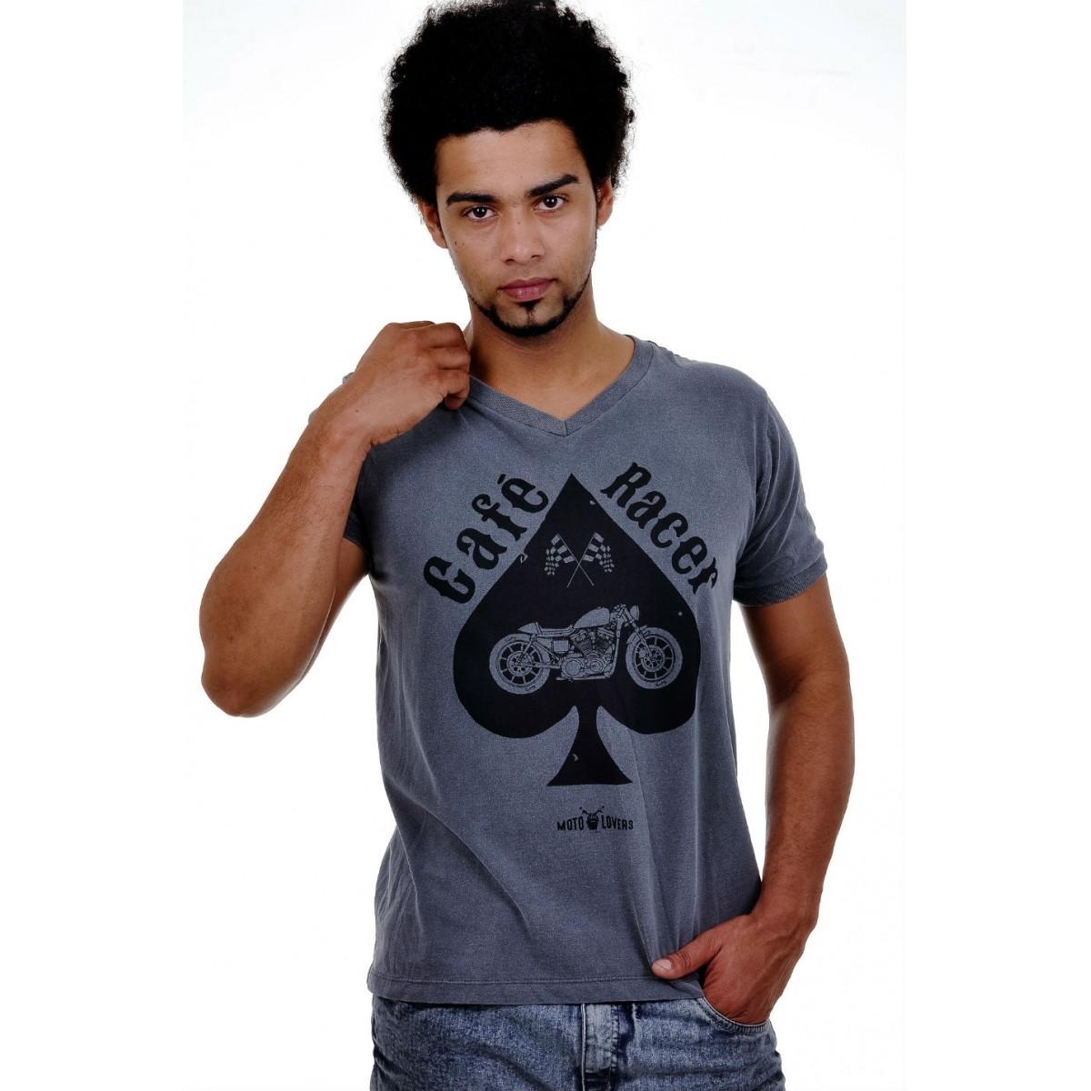Camiseta Moto Lovers - Stone Café Racer