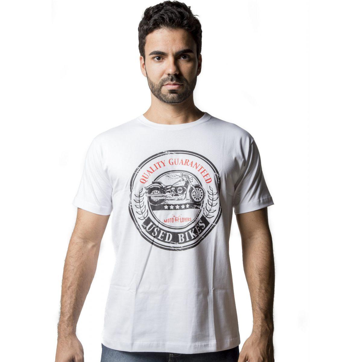 Camiseta Moto Lovers - Used Bikes