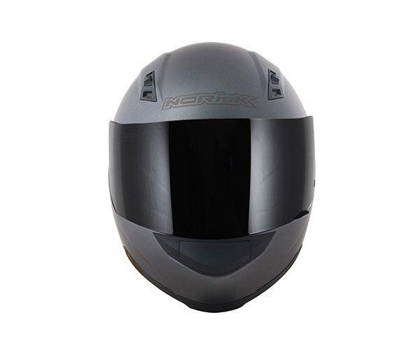 Capacete NoRisk FF391 MONOCOLOR Titanium