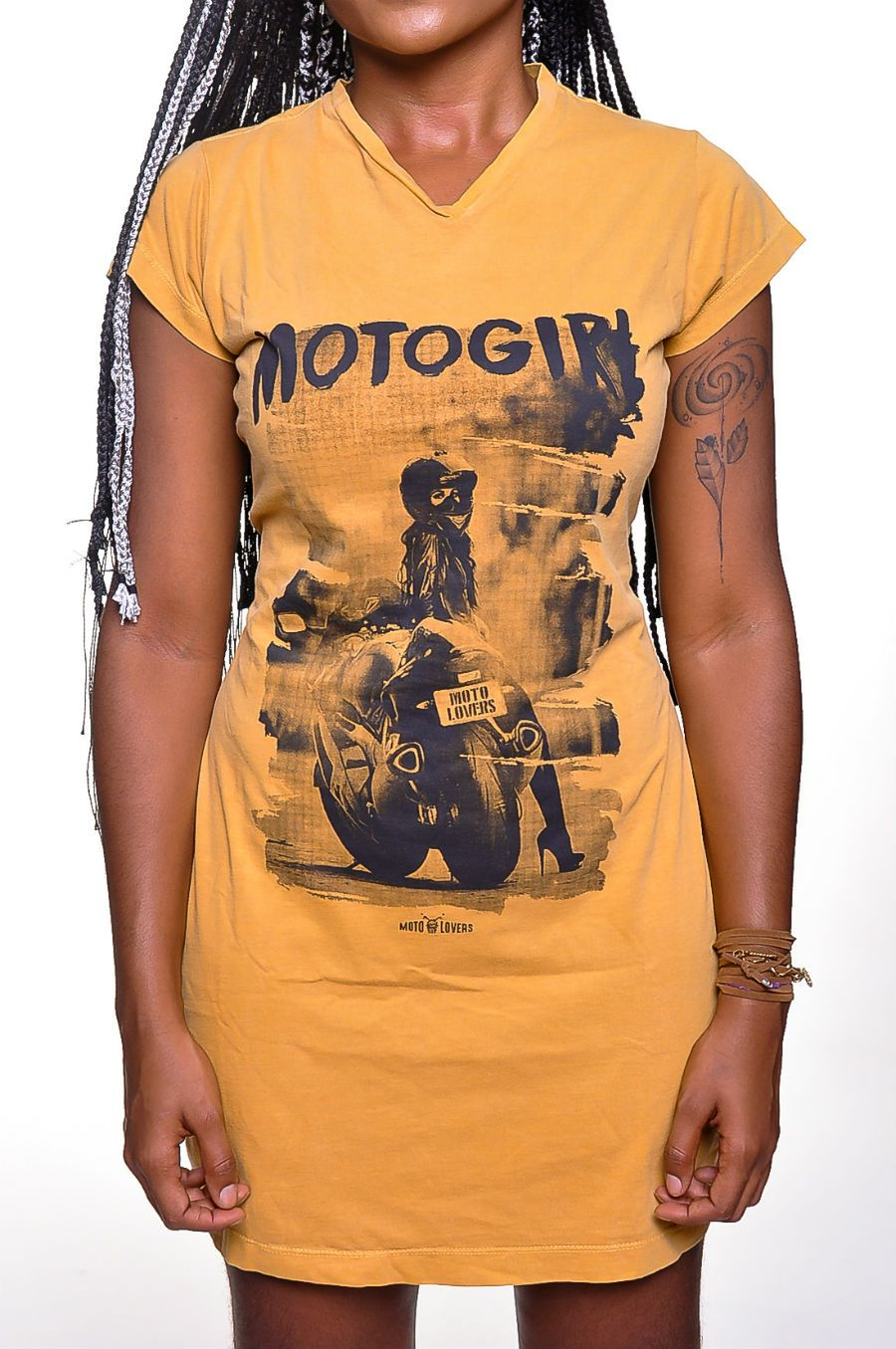 Vestido Moto Lovers - Moto Girl
