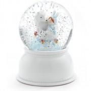 Luminária Djeco  Lila e Pupi - Bola de Neve