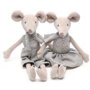 Pelúcia Sam & Peas - Ratinhos Charles e Julie