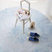 Tapete Lorena Canals Azul Claro - Tie Dye
