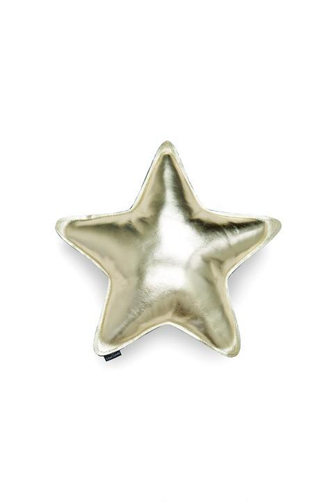 Almofada Estrela - Dourada