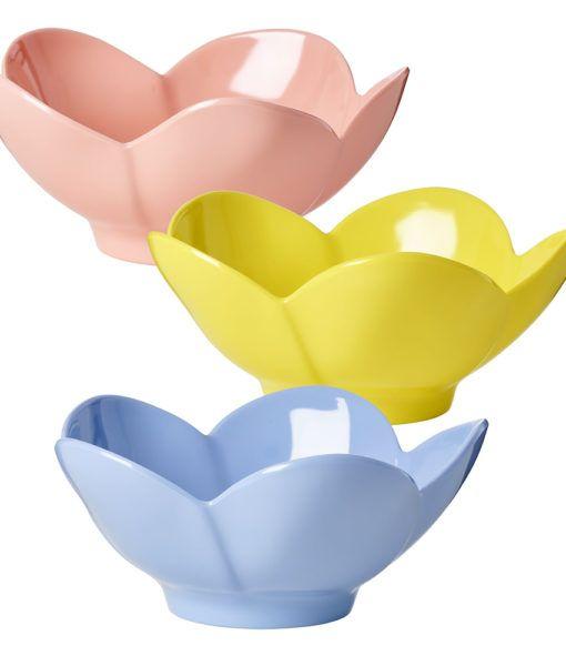 Bowl Rice em Melamina - Formato Flor