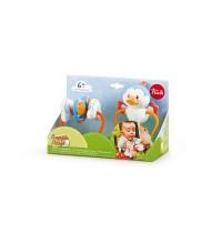 Brinquedo de Atividades para Prender no Carrinho de Passeio - Pica-Pau, Nuvem e Borboleta