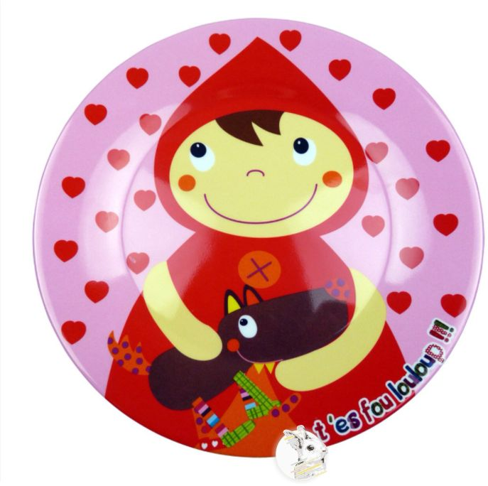 Chapeuzinho Vermelho - Prato III Ebulobo