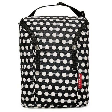 CONNECT DOTS - BOLSA TÉRMICA PARA MAMADEIRA SKIP HOP - DOUBLE BOTTLE BAG