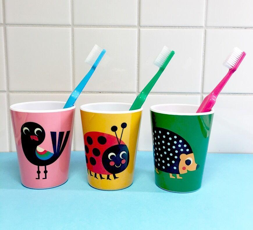Copo Infantil Oom Design - Pássaro