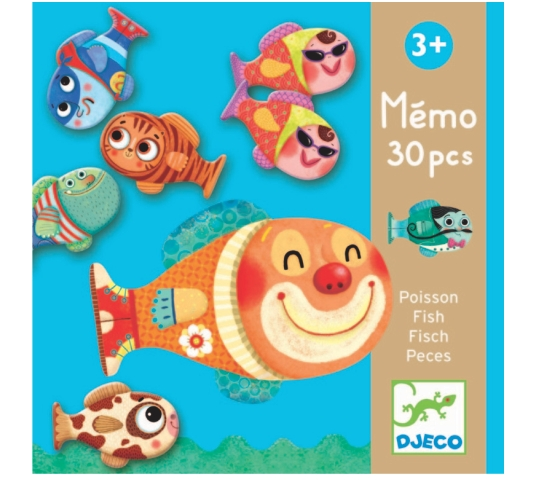 Djeco - Jogo da Memória Peixes