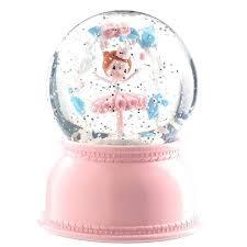 Djeco - Luminária Bailarina - Bola de Neve