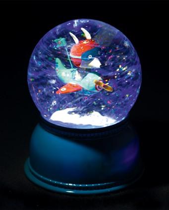 Djeco Luminária Infantil - Avião - Bola de Neve