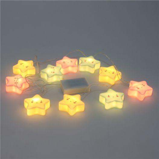 Luminária Fio de Luz - Estrelas