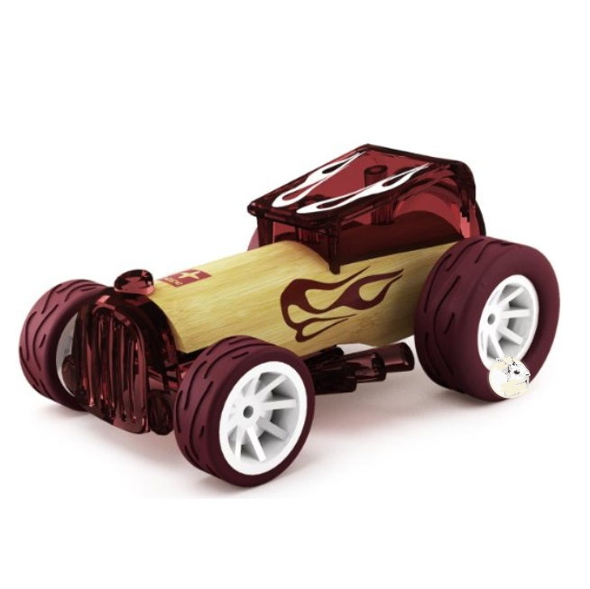 Hape - Mini Carro Bruiser em Bambu