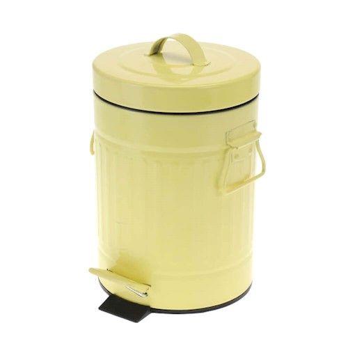 Lixeira Candy Colors Amarela - 3L