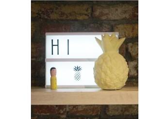 Luminária Infantil Abacaxi Amarelo