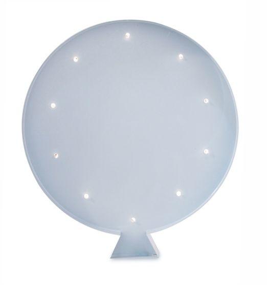 Luminária Infantil Balão - Azul