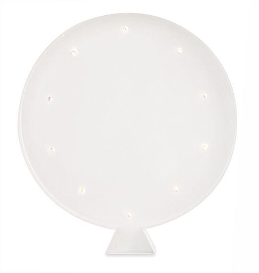 Luminária Infantil Balão - Branco