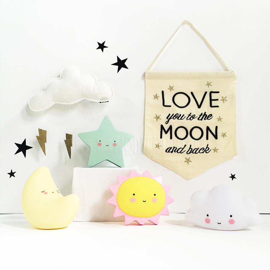 Luminária Infantil Lua