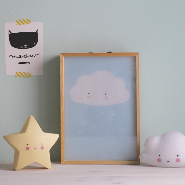 Luminária Infantil Nuvem Branca