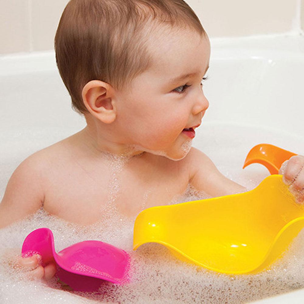 Patos para Banho - Skip Hop - Rosa, Amarelo e Laranja