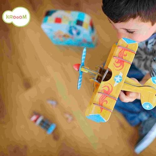 Quebra-Cabeças 3D na Maletinha Krooom - Corrida