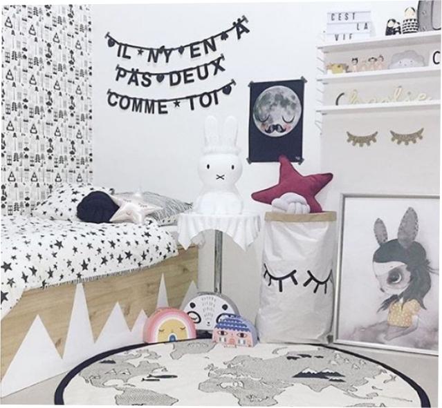 Saco Organizador Infantil para Brinquedos - Cílios