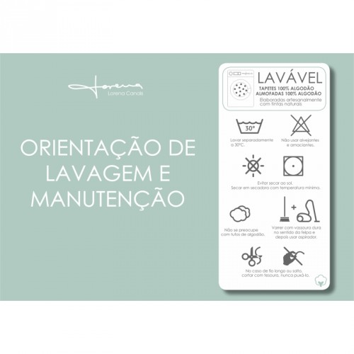 TAPETE LORENA CANALS BEGE - OVAL