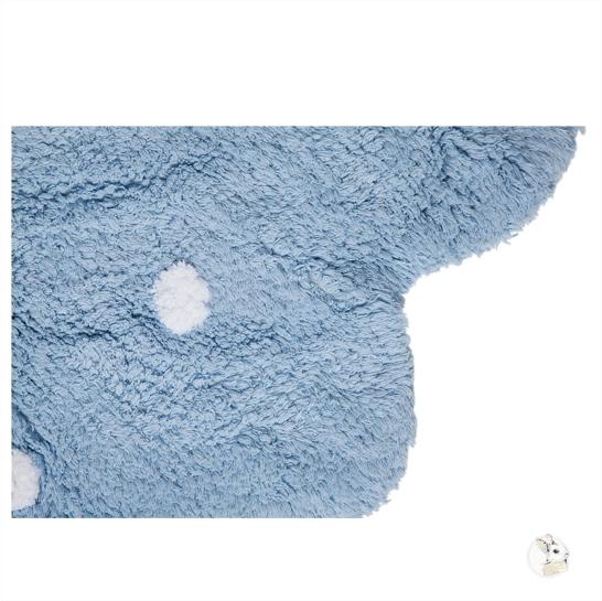 Tapete Lorena Canals Azul Redondo - Galletita
