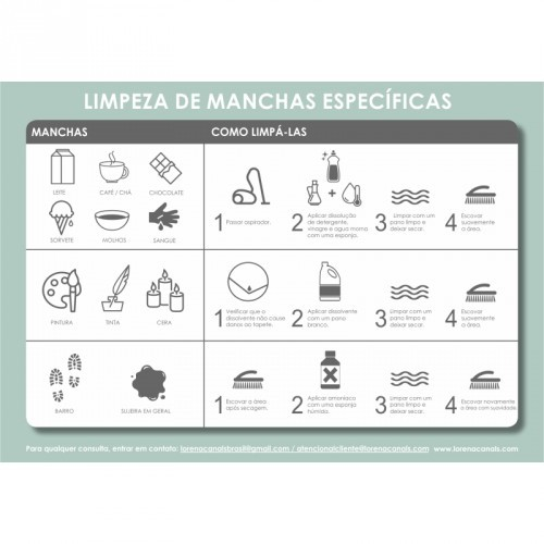 Tapete Lorena Canals Cinza Gelo - Listas