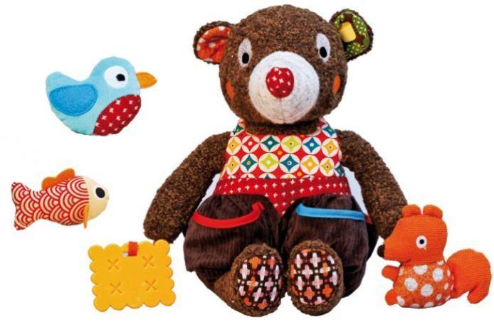 Woodours - Urso de Atividades - Ebulobo