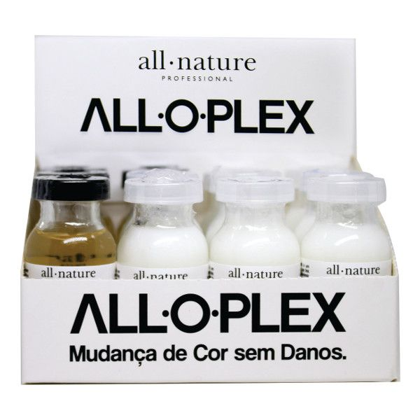 Aloplex Blocker All Nature  Bloqueador de Danos Nas Coloraçoes Descolorações e Mechas - Mini Kit