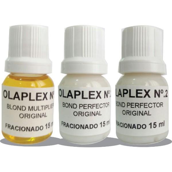 Olaplex Salon Intro o Máximo de Tratamento de Danos nas Descolorações - Produto Original Fracionado - 3 Ampolas 15ml,
