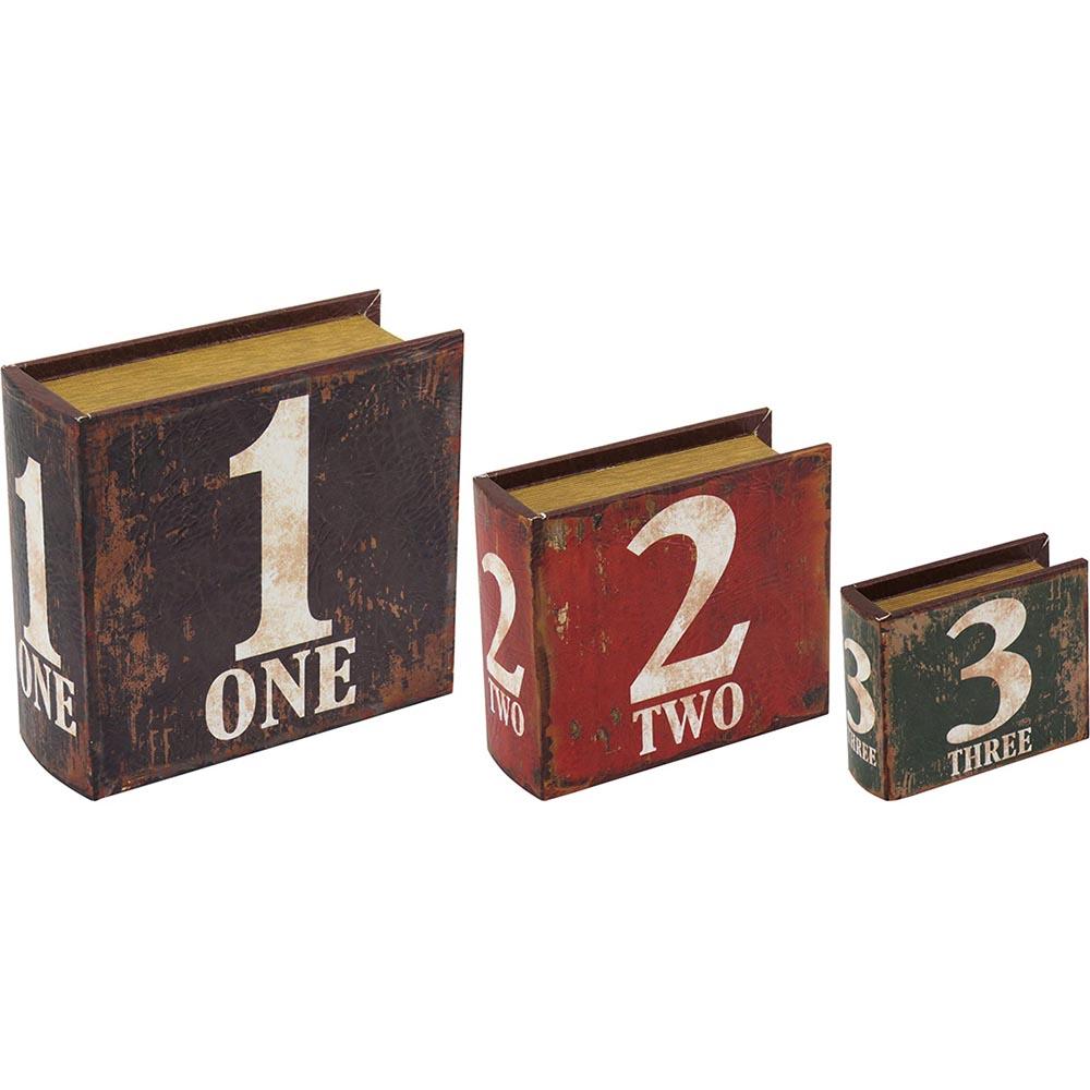 Conjunto Caixas Numbers - 3 peças