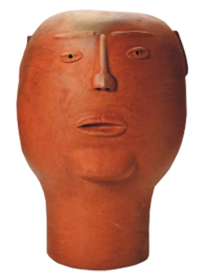 Escultura Cabeça Homem