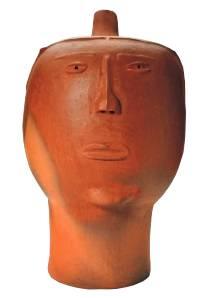 Escultura Cabeça Mulher