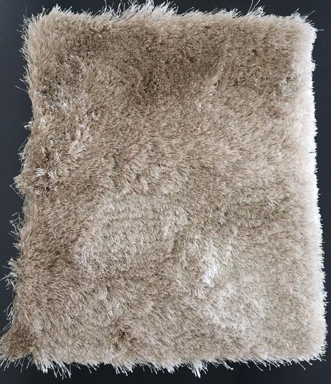 Tapete Redondo Shaggy Sable Bege 200 cm (B)