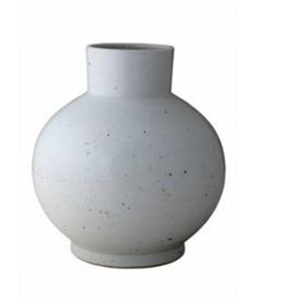 Vaso Redondo Blanc de Chine