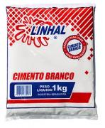 CIMENTO BRANCO 1KG - LINHAL