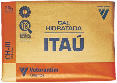 CAL PARA MASSA HIDRAT CH III 20KG - ITAU / VOTORANTIM