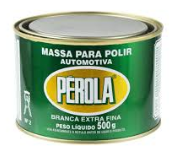 MASSA PARA POLIR EXTRA FINA BRANCA - PÉROLA