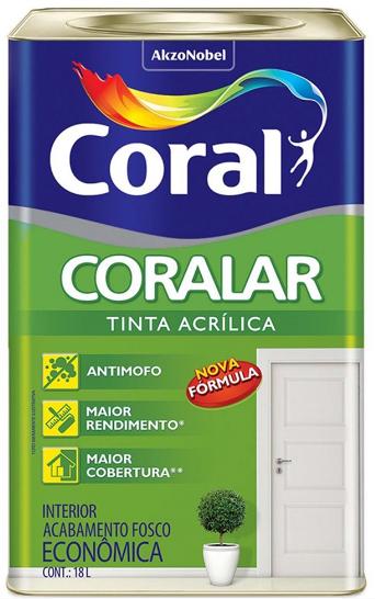 TINTA CORALAR - CORAL