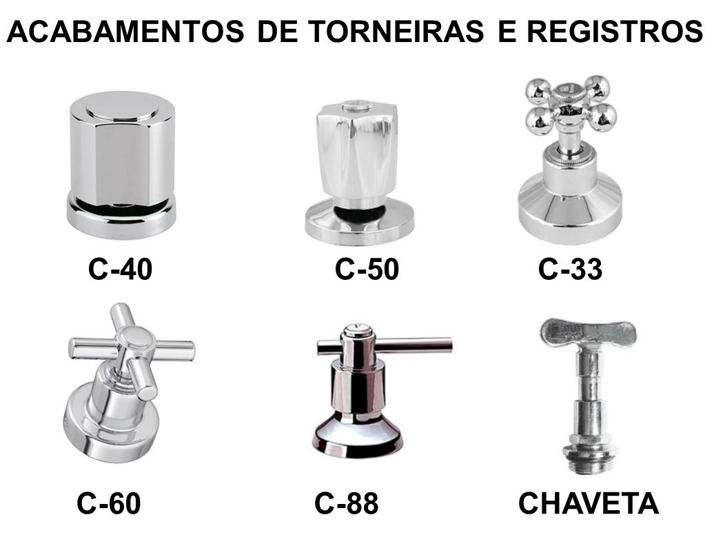 TORNEIRA PARA COZINHA MR METAIS C-33 PAREDE
