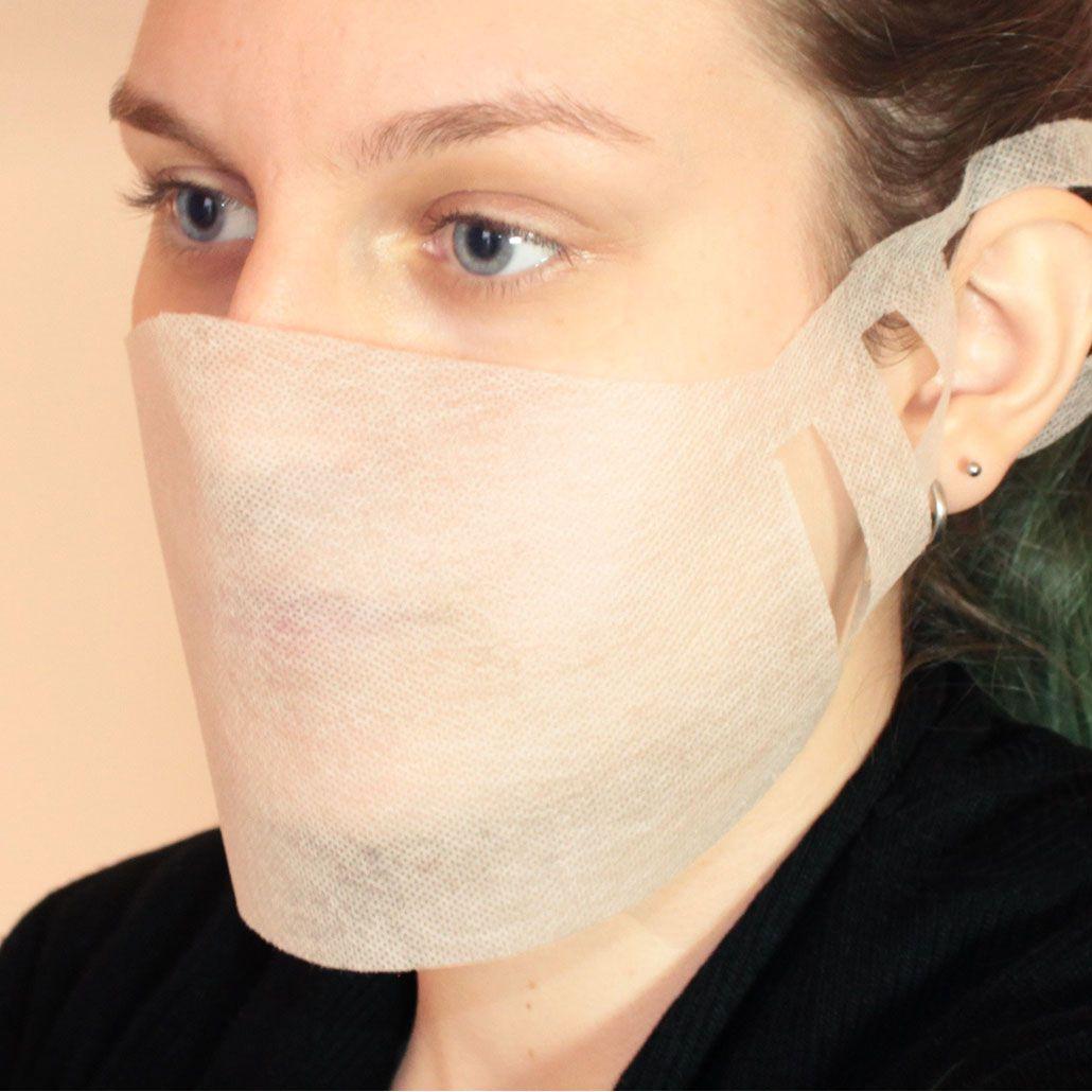 Máscara Descartável em TNT Ajustável 20 Unidades