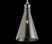 Luminária Pendente Vidro Fumê  Soprano  Ref: Lt-292V-G