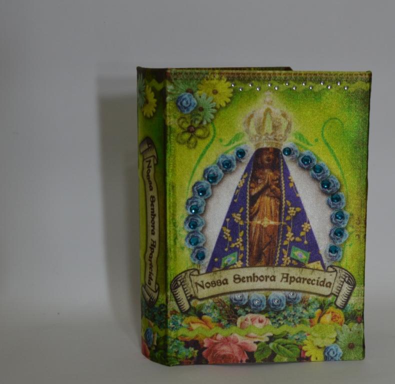 Mini Book Box Nossa Sra Aparecida